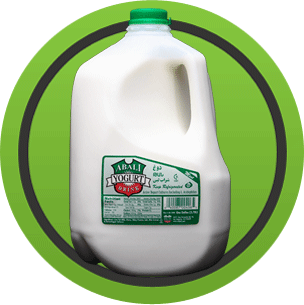 Abali Yogurt Drink (Mint Flavor) 1 Gallon