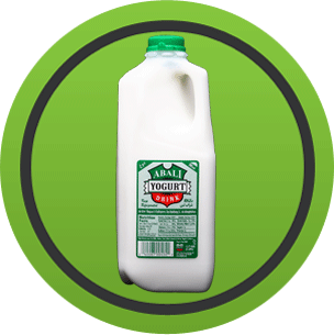 Abali Yogurt Drink (Mint Flavor) 1/2 Gallon