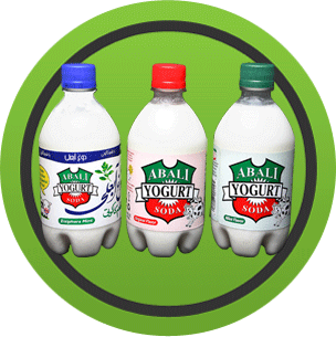 Abali Yogurt Sodas: Original, Mint & Ziziphora Flavor (Single Bottle)